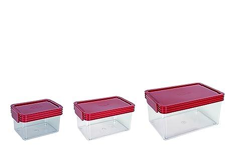 6a0813f95a8d Amazon.com: ClickClack Basics Storage Containers, 0.45-Quart, 1 ...