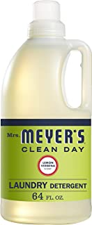 product image for Mrs. Meyer's Clean Day Liquid Laundry Detergent, Cruelty Free and Biodegradable Formula, Lemon Verbena Scent, 64 oz (64 Loads)