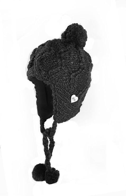 Chaos Cappelli da Donna Frenzy Hand Knit Peruviano Berretto con  paraorecchie 34978b809b9f
