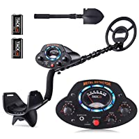 Deals on Tacklife Metal Detector w/Disc Mode 41-53-in