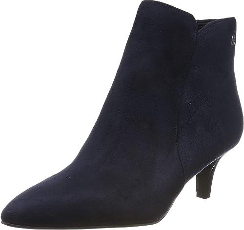 Tamaris Damen Stiefel Stiefelette Boots elegant blau 1 1