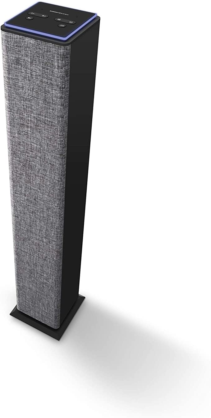 Energy Tower 2 Style Bangkok Bluetooth, 25 W, USB//MicroSD MP3 Leser, FM Radio, Line-In Grau