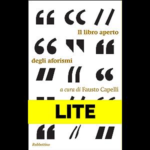 Il libro aperto degli aforismi - LITE: Estratto gratuito (Italian Edition)