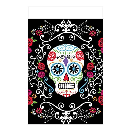 Missy Moo Amscan Day Of The Dead Window Sticker