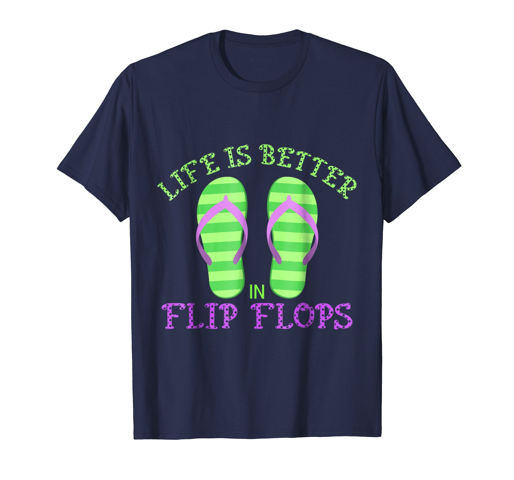 Life is Better in Flip Flops Women's Shirts