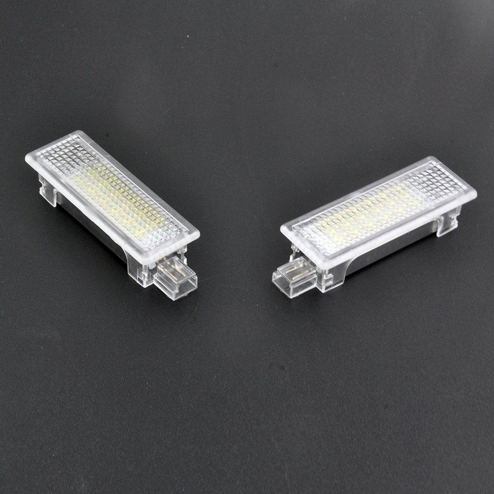 Auto Wayfeng WF 2 STÜ CKE LED Courtesy Fuß raum Unter Tü r Licht Kein Fehler fü r B-M-W 1/3/5/7 Serie E87 E90 E92 E93 F10 E60 E61 F10 X1 X3 X5 X6 Z4, Version A WF-501