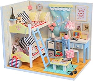 Flever DIY House Kit Creative Craft Toy Perfect Valentine's Gift--Young Memory