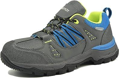 Zapatillas de Trekking para Mujer, Zapatillas de Senderismo Impermeable Zapatos de Montaña Escalada para Caminar Suela Antideslizante AL Aire Libre Zapatillas de Trail Running, EU36 (UK3) Blue: Amazon.es: Zapatos y complementos
