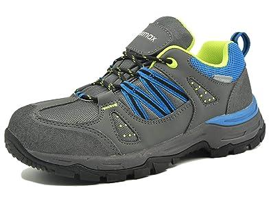 Zapatillas de Trekking para Mujer, Zapatillas de Senderismo Impermeable Zapatos de Montaña Escalada para Caminar Suela Antideslizante AL Aire Libre