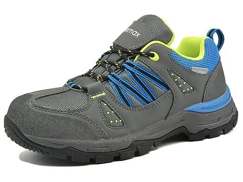 Knixmax-Zapatillas de Senderismo para Mujer,Botas de Montaña para Caminar Suela Antideslizante Zapatillas