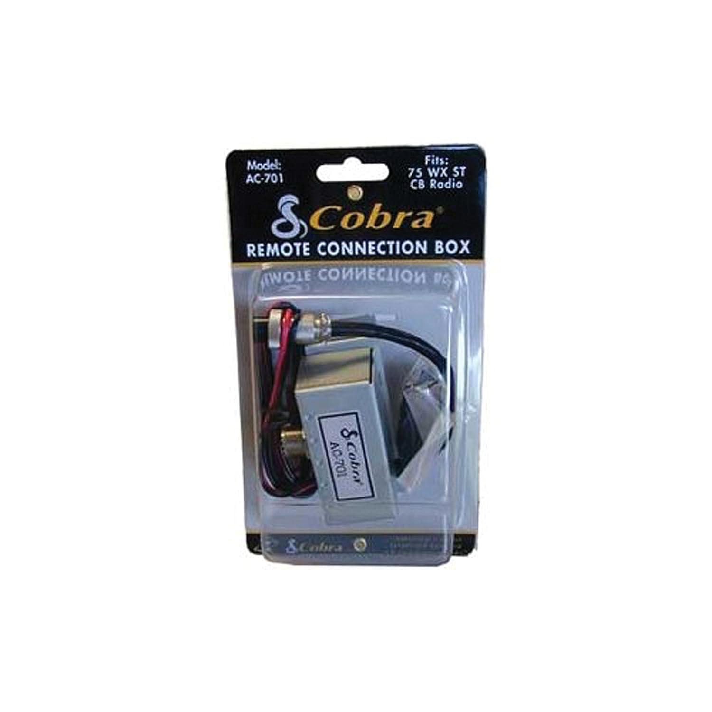 Amazon.com: Cobra AC701 - Remote Junction Box for 75WXST CB Radio: Cell  Phones & Accessories