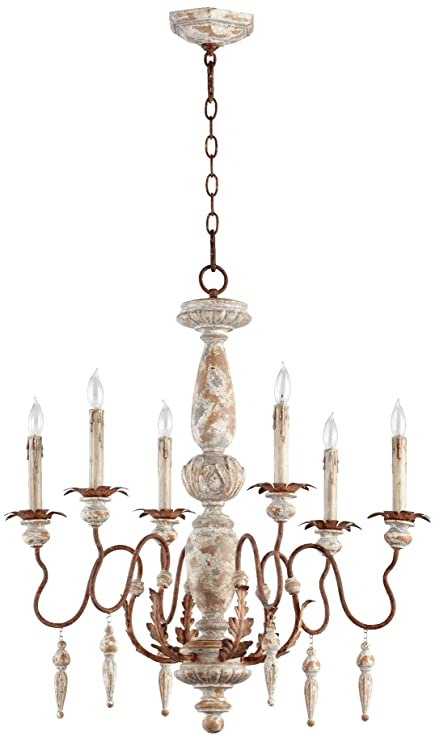 quorum international lighting satin nickel quorum international 6052656 la maison light chandelier 28quot 28