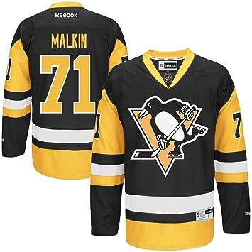 Reebok Pittsburgh Penguins Evgeni Malkin  71 NHL Jersey Home XXL ... b886c5d6d