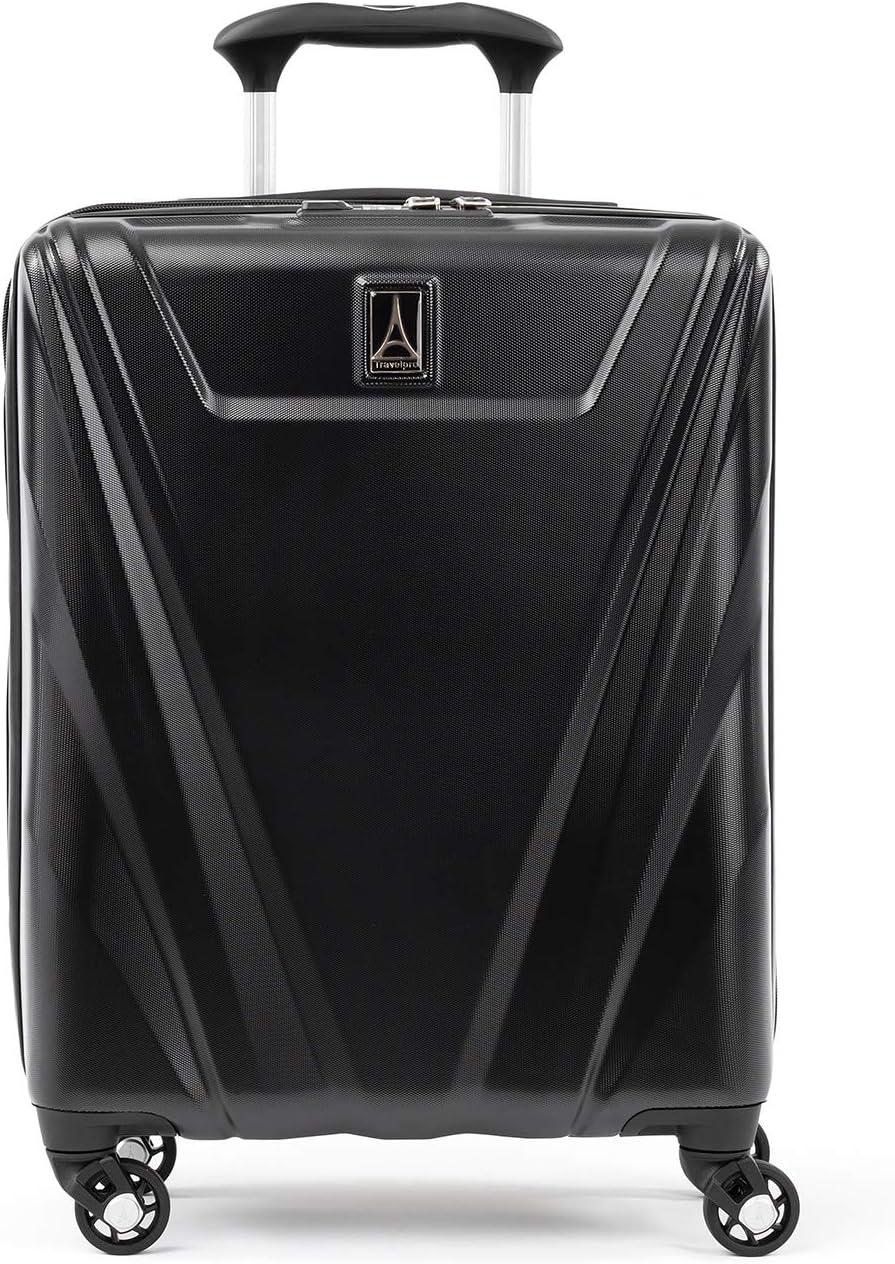 Travelpro Maxlite 5 - Hardside Spinner Wheel Luggage, Black, Carry-On 19-Inch