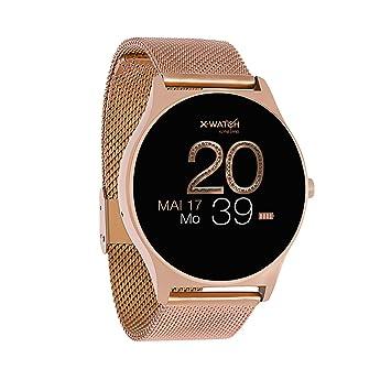 Joli XW Pro | Mujer Smart Watch Rosegold – Smart Watch Mujer iOS – Podómetro Reloj Mujer – Fitness Smart Watch