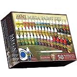 The Army Painter: Kit de Peinture pour Miniature, Kit de Peinture Warpaints Mega 3