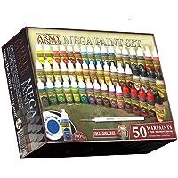 The Army Painter: Miniature Painting Kit, Warpaints Mega Paint Set 3