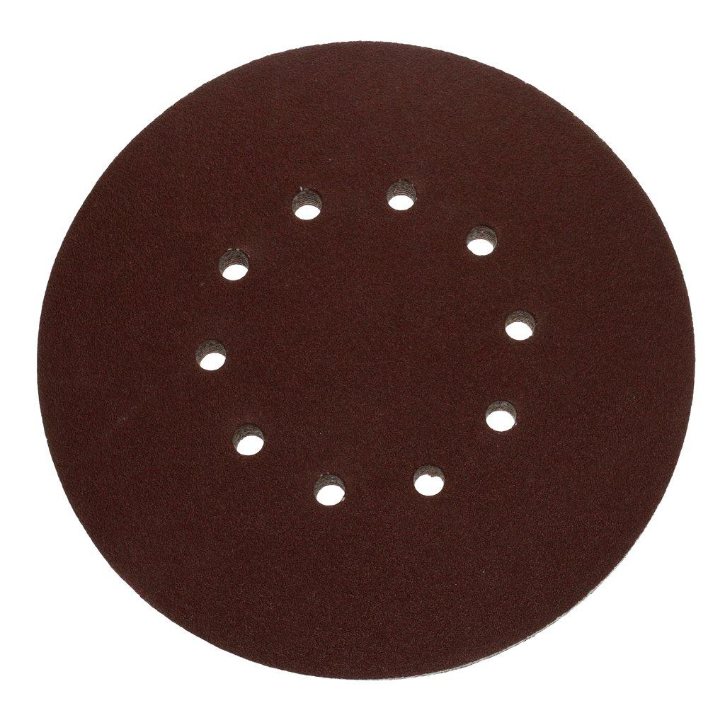 40# FLAMEER 10x Feuilles De Polissage Disques D/érouiller Papier Verre Grain doxyde daluminium