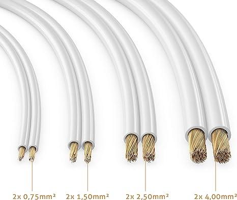 Manax Sc2075w 10 Lautpsrecherkabel 2x0 75 Mm Cca Elektronik