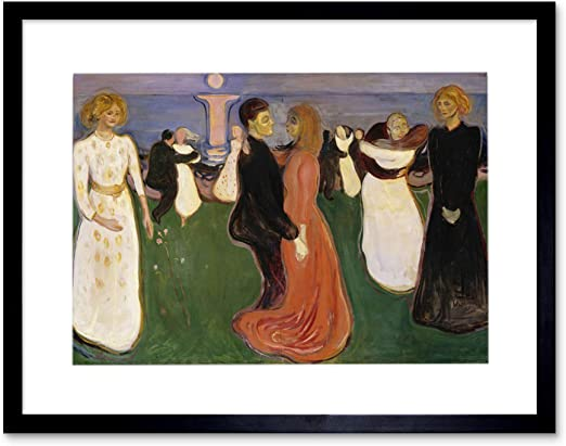 Edvard Munch The dance of life Giclee Canvas Print repro