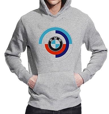 BMW Motorsport-camiseta Unisex-Jersey polar gris large: Amazon.es: Ropa y accesorios