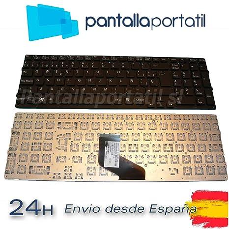 Desconocido Teclado español para Sony Vaio PCG-31311M Marco Plata Calidad A