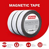 XFasten Magnetic Tape 1 Inches x 10 Feet