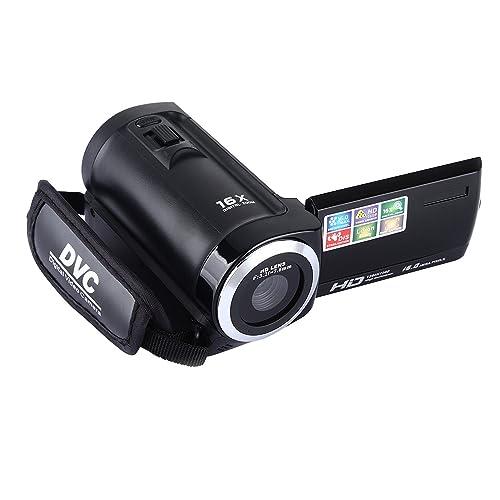 Camera Camcorders, Zoomk 16X Digital Zoom HD 1080P Mini Video Camcorder 2.7 Inches TFT LCD Screen Portable DV (16 Mega Pixels)