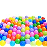toyofmine 50/100/200/300/400/500/600/700/800/1000pcs Colorful Ball Ocean Balls Soft Plastic Ocean Ball Baby Kid Swim Pit Toy Ship from USA …