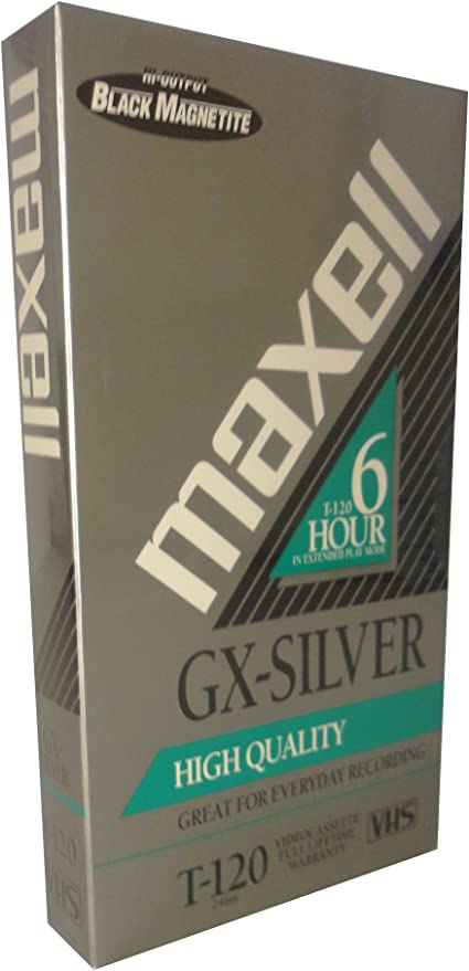 1-pack Maxell GX-Silver T-120 VHS