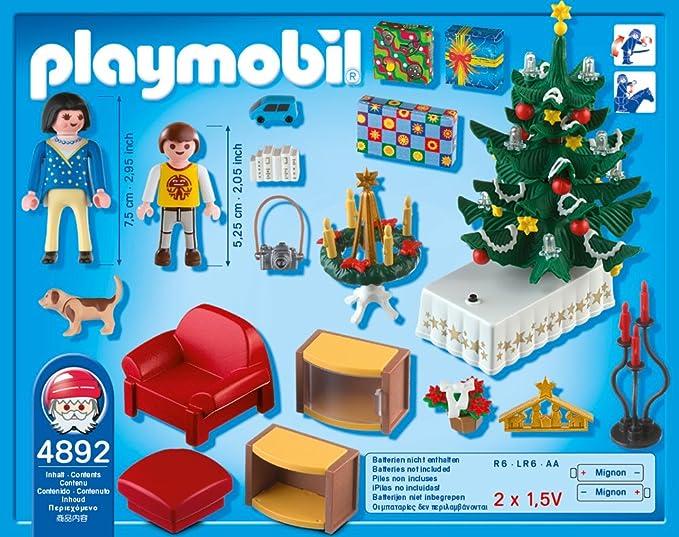 Playmobil Weihnachtsbaum.Playmobil 4892 Weihnachtszimmer