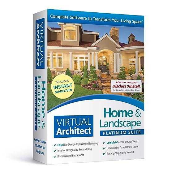 Amazon Com Virtual Architect Home Landscape Platinum Suite