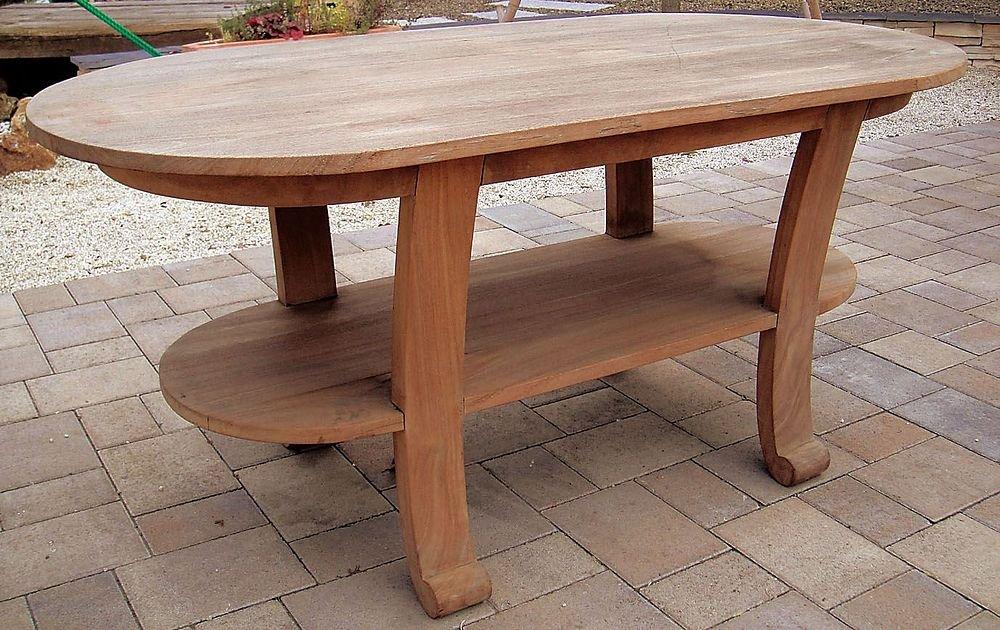 ジャービス商事 天然木無垢材 ガーデンテーブル ロマンティックテーブル 35214 テーブルのみ B009LF0A32