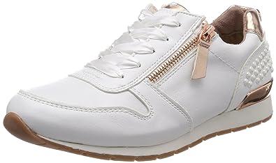 Damen 4894106 Sneaker, Weiß (White), 39 EU Tom Tailor