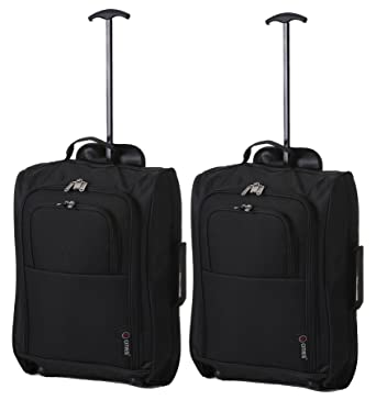 Amazon.com | Set of 2 Super Lightweight Cabin Approved Luggage ...