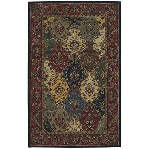 Safavieh Himalaya Collection HIM707A Handmade Blue and Multi Premium Wool Area Rug 2 x 3
