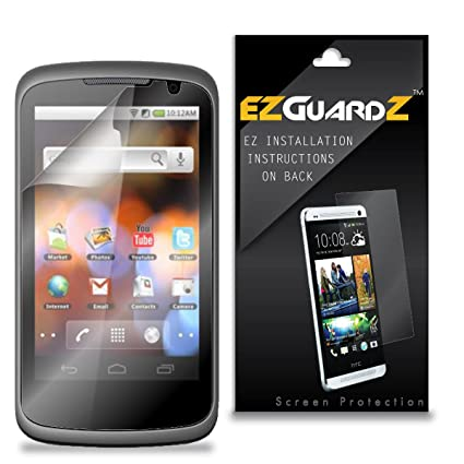 Amazon com: (3-Pack) EZGuardZ Screen Protector for UMX U680 (Ultra