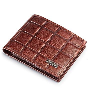 Billetera Cartera de chocolate para hombres y mujeres Regalo de cumpleaños general regalo de cumpleaños Tarjeta