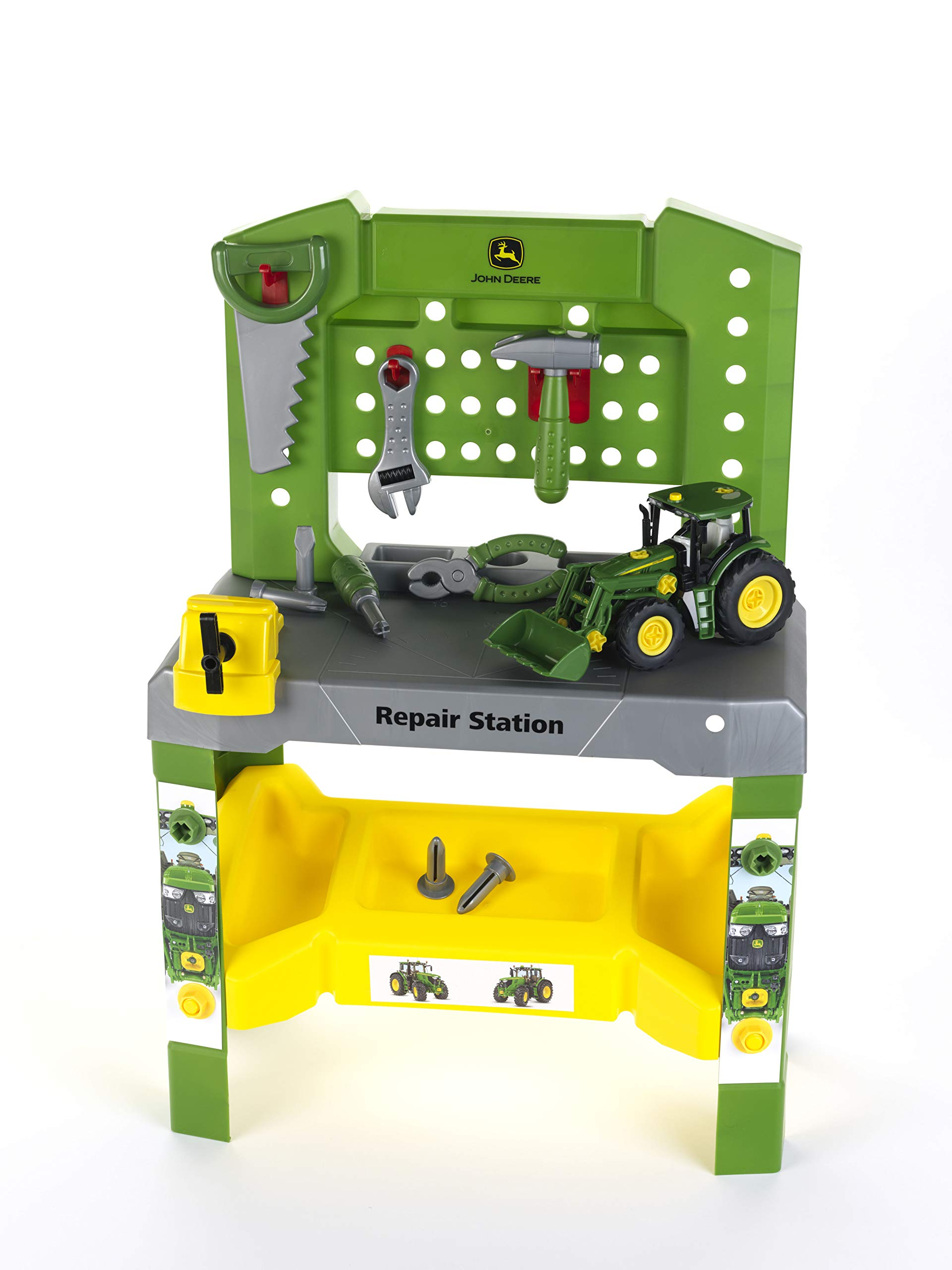 Theo Klein 3935-TK, John Deere Repair Station, Green/Yellow