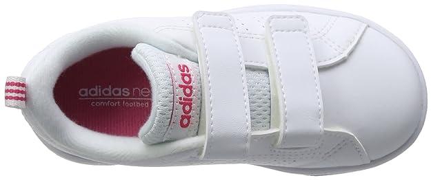 best website 7ca51 0e450 Adidas Vs Advantage Clean Cmf Inf Baskets Basses, Mixte Bébé, blanc, 25 EU  Amazon.fr Chaussures et Sacs
