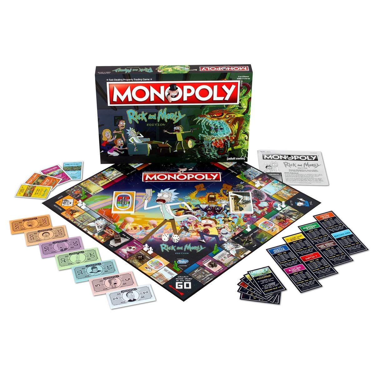 Rick And Morty Monopoly Board Game: Amazon.es: Libros en idiomas ...