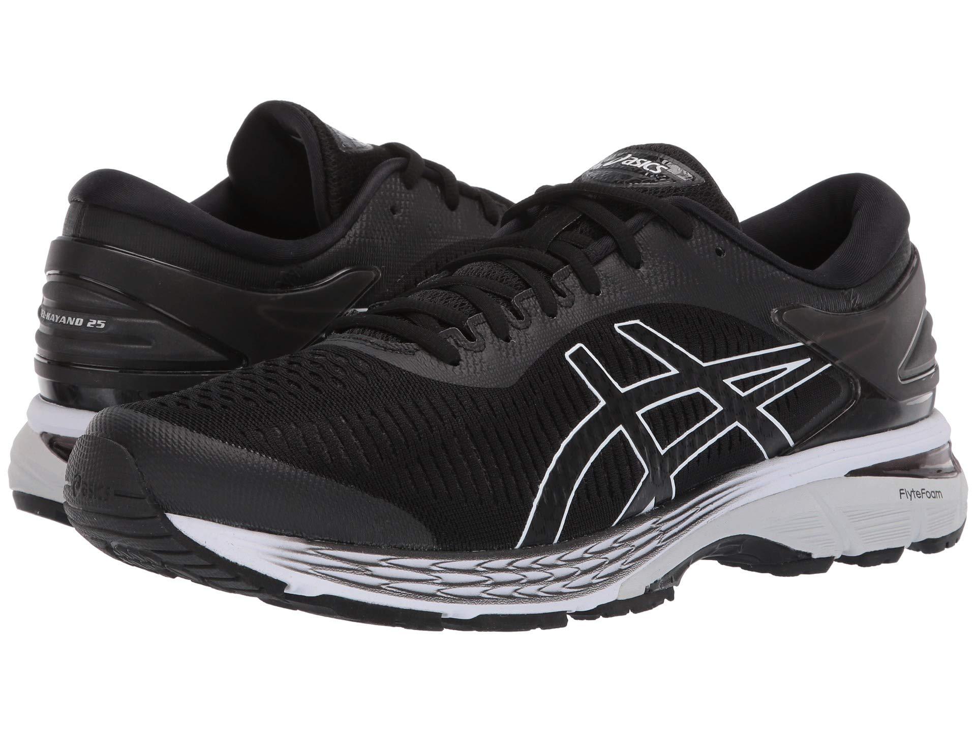ASICS Gel Kayano 25 Men's Running Shoe, Black/Glacier Grey, 6.5 D US by ASICS (Image #7)