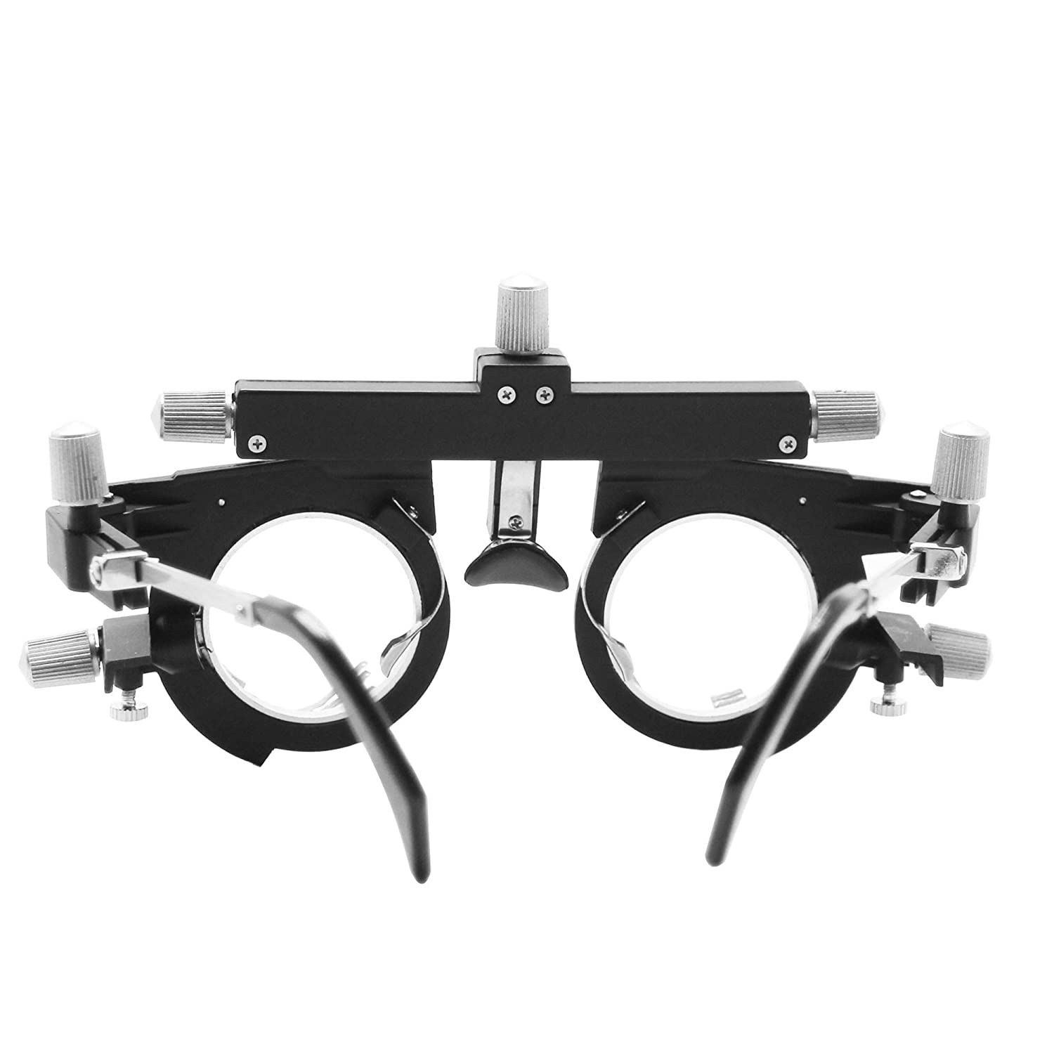 CGOLDENWALL Glasses Optometry Trial Frame Adjustable Precision Optic Trial Eye Optical Lens Frame EyeTest Optician 48-80mm
