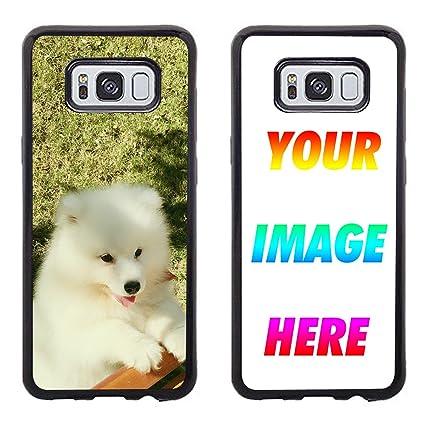 Amazon.com: Carcasa para Samsung Galaxy S8, crea tu propia ...