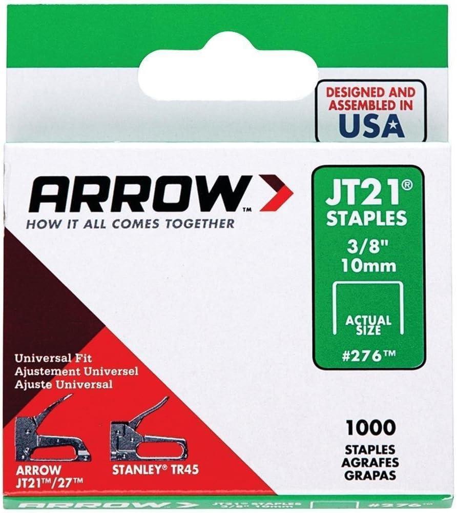 Arrow Fastener JT21 Type Staples 276 SEPTLS091276