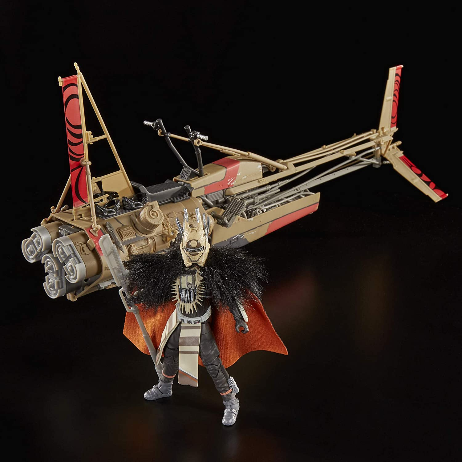 Star Wars The Black Series Enfys Nest & Enfys Nest' s Swoop Bike Hasbro E0332