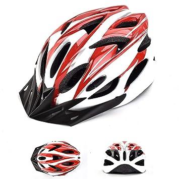 Don Peregrino Casco Bicicleta Hombres Mujeres Estándar, Cascos Deportes Ultraligeros & Moldeados Integralmente