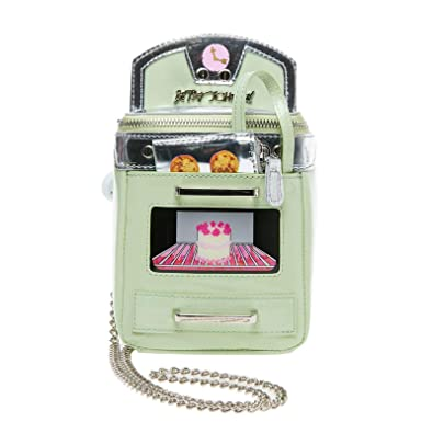 2a1c98afc204 Betsey Johnson Bake It Like Betsey Oven Crossbody, Mint: Handbags ...
