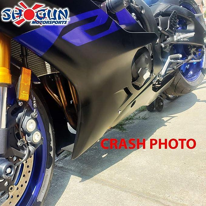 OES Frame Sliders and Swingarm Spools 2017 2018 2019 2020 Yamaha YZFR6 R6 No Cut Blue