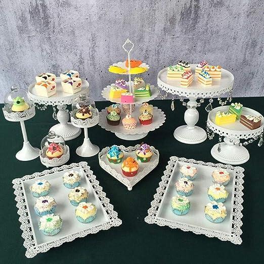PRIT2016 - Soporte para tartas con cristal, Bandejas para ...